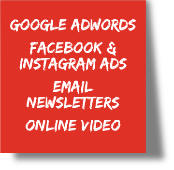 Digital Marketing Services: Google AdWords, Email Newsletters, Online Video